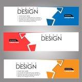 Fondo de la bandera del diseño del vector ejemplo eps10 Imágenes de archivo libres de regalías