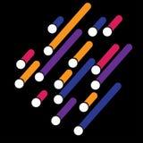 Fondo de la bandera del diseño del vector ejemplo eps10 Imagen de archivo
