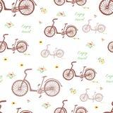 Fondo de la bicicleta Fotografía de archivo