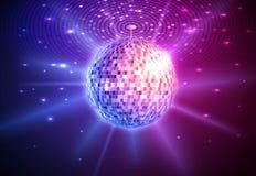 Fondo de la bola de discoteca imagen de archivo libre de regalías