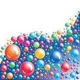 Fondo de la burbuja Foto de archivo libre de regalías