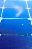 Fondo de la célula solar Fotos de archivo libres de regalías