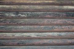 Fondo de la cabaña de madera Foto de archivo libre de regalías