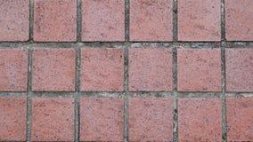 Fondo de la calzada del pavimento del ladrillo Fotografía de archivo libre de regalías