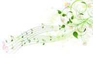 Fondo de la canción del resorte Imagenes de archivo