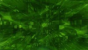 Fondo de la cantidad del plexo del color verde stock de ilustración