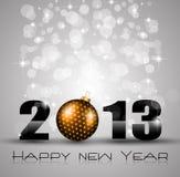 Fondo de la celebración del Año Nuevo 2013 Foto de archivo libre de regalías