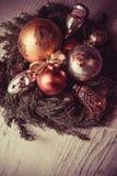 Fondo de la celebración del Año Nuevo Foto de archivo