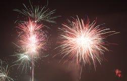 Fondo de la celebración del Año Nuevo Fotos de archivo