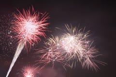 Fondo de la celebración del Año Nuevo Imagenes de archivo