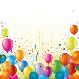 Fondo de la celebración del día de fiesta Fotografía de archivo libre de regalías