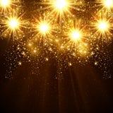Fondo de la celebración del vector de la Feliz Año Nuevo 2015 Fotos de archivo libres de regalías