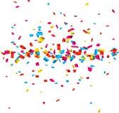 Fondo de la celebración del confeti Foto de archivo libre de regalías