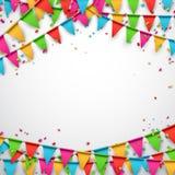 Fondo de la celebración del partido Imágenes de archivo libres de regalías