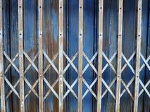 fondo de la cerca del metal Imagen de archivo