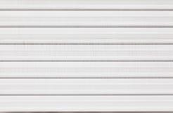 Fondo de la cerca del metal blanco Imágenes de archivo libres de regalías