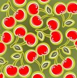 Fondo de la cereza Foto de archivo libre de regalías