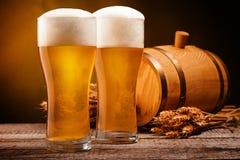Fondo de la cerveza Fotos de archivo