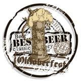 Fondo de la cerveza Imagen de archivo libre de regalías