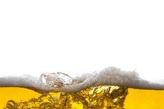 Fondo de la cerveza Fotografía de archivo libre de regalías