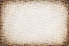 Fondo de la cestería Imagen de archivo libre de regalías