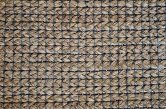 Fondo de la cestería de la textura Fotografía de archivo