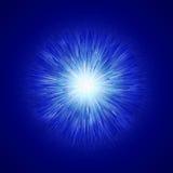 Fondo de la chispa del efecto luminoso que brilla intensamente Textura chispeante del resplandor mágico Rayos mágicos del efecto  Imagen de archivo libre de regalías