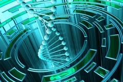 Fondo de la ciencia y de la tecnología libre illustration