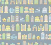 Fondo de la ciudad Edificios Rascacielos y edificios públicos de Imagen de archivo