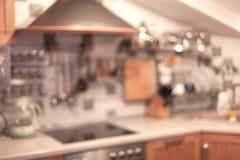 Fondo de la cocina Fotografía de archivo