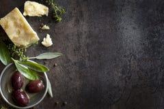 Fondo de la comida Imagen de archivo libre de regalías