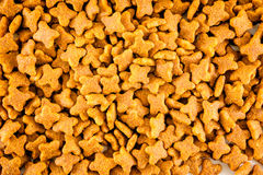 Fondo de la comida para gatos Imagen de archivo libre de regalías