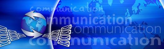 Fondo de la comunicación ilustración del vector