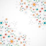 Fondo de la comunicación de la tecnología del color libre illustration