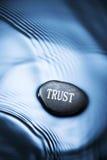 Fondo de la confianza Fotos de archivo