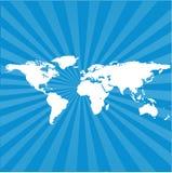 Fondo de la correspondencia de mundo   Imagen de archivo libre de regalías