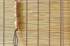 Fondo de la cortina de bambú fotos de archivo libres de regalías