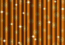 Fondo de la cortina del oro de la Navidad libre illustration