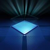 Fondo de la CPU Imagen de archivo libre de regalías