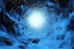 Fondo de la cueva de hielo ilustración del vector