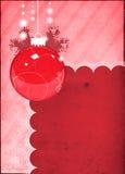 Fondo de la decoración de la Navidad Imagen de archivo