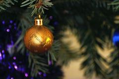 Fondo 2017 de la decoración de la Navidad Imagenes de archivo