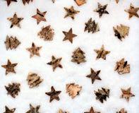 Fondo de la decoración de la Navidad Fotos de archivo libres de regalías