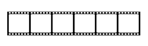Fondo de la dimensión de una variable de la película Fotos de archivo libres de regalías