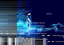 Fondo de la distorsión de la interferencia Imagen de archivo