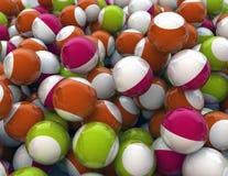 Fondo de la diversión de las bolas Foto de archivo