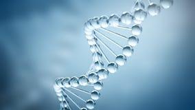 Fondo de la DNA - ejemplo 3D imagenes de archivo