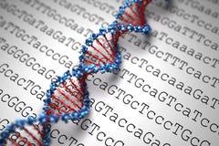 Fondo de la DNA (tipo 05) Imagen de archivo libre de regalías