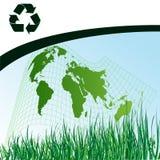 Fondo de la ecología libre illustration