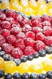 Fondo de la empanada de la fruta. Fotografía de archivo libre de regalías